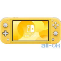 Портативна ігрова приставка Nintendo Switch Lite Yellow