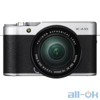 Беззеркальный фотоаппарат Fujifilm X-A10 kit (16-50mm) Silver