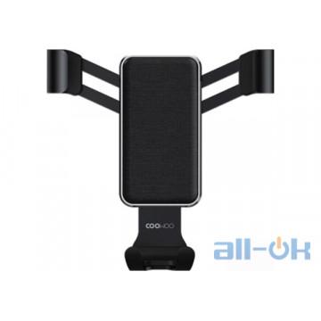 Автомобильный держатель для смартфона Xiaomi COOWOO T200 Gravity car phone holder Black