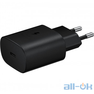 Зарядное устройство Samsung USB-C Wall Charger 25W Black (EP-TA800XBEGRU) UA UCRF
