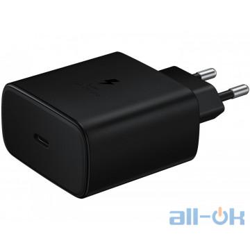 Зарядное устройство Samsung USB-C Wall Charger Black (EP-TA845XBEGRU)