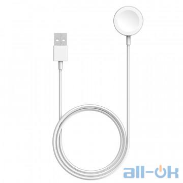 Беспроводное зарядное устройство для смарт-часов Apple Watch Magnetic Charging Cable (1m) (MX2E2)