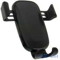 Автомобільний тримач - безпровідне зарядне WUW W12 Black