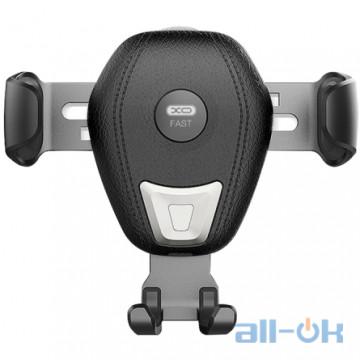 Автомобильный держатель - беспроводная зарядка XO WX009 Qi 10W XO-WX009 Black