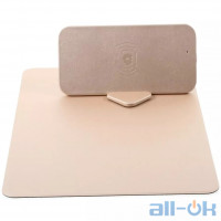 Килимок для миші WUW C54 Qi 5W gold