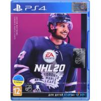 Игра  NHL 20 (PS4, Русские субтитры)