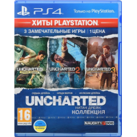 Игра Uncharted: Натан Дрейк. Коллекция - Хиты PlayStation (PS4, Русская версия)
