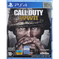 Игра Call of Duty: WWII (PS4, Русская версия)
