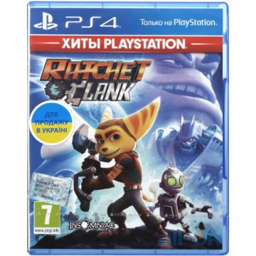 Игра Ratchet & Clank (PS4, Русская версия)