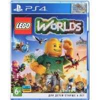 Игра LEGO Worlds (PS4, Русская версия)
