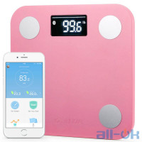Весы напольные электронные Yunmai Mini Smart Scale Pink (M1501-PK)