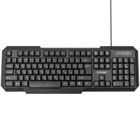 Клавиатура CROWN CMK-13 USB Black