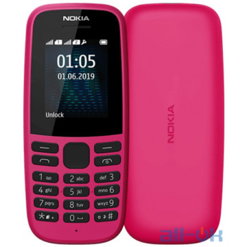 Nokia 105 DS 2019 Pink (16KIGP01A01) UA UCRF