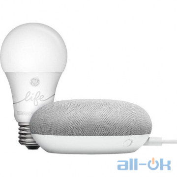 Smart колонка + лампа Google Smart Light Starter Kit (GA00518-US)