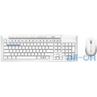 Комплект (клавіатура + миша) RAPOO 8200M Wireless White UA UCRF