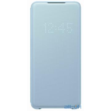Чехол для смартфона Samsung G985 Galaxy S20 Plus LED View Cover Sky Blue (EF-NG985PLEG)