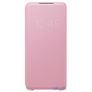 Чехол для смартфона Samsung G985 Galaxy S20 Plus LED View Cover Pink (EF-NG985PPEG)