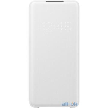 Чехол для смартфона Samsung G985 Galaxy S20 Plus LED View Cover White (EF-NG985PWEG)