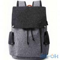 """Рюкзак для ноутбука Tangcool ICON TC713 Grey 15"""" (USB)"""