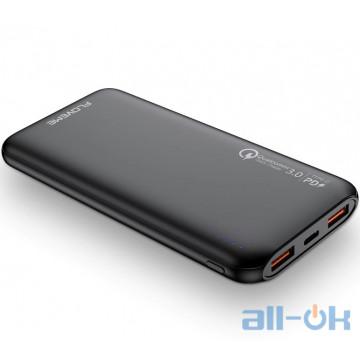 Внешний аккумулятор (Power Bank) Floveme QC 3.0 10000 mAh Black