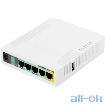Беспроводной маршрутизатор (роутер) Mikrotik RB951Ui-2HND UA UCRF