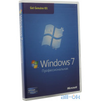 Windows 7 Microsoft Get Genuine Kit Windows 7 SP1 Професійна 32 / x64 Русский 1 License (6PC-00024)