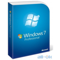 Windows 7 Microsoft Windows 7 SP1 Професійна 64 bit Русский (версія коробочки) OEM (FQC-08297)