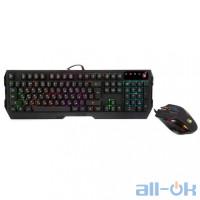 Комплект: клавіатура і миша A4Tech Bloody Q1300 USB Black UA UCRF