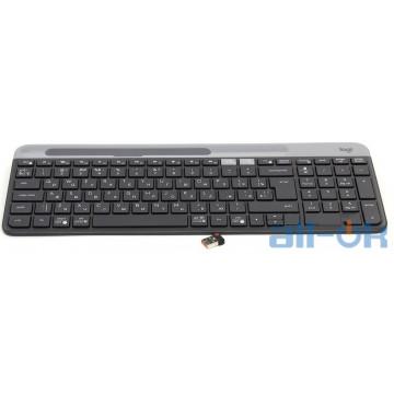 Клавиатура Logitech K580 Slim Multi-Device Wireless Graphite (920-009275) UA UCRF