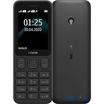 Nokia 125 TA-1253 DS Black UA UCRF