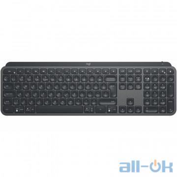 Клавиатура Logitech MX Keys Wireless Illuminated Graphite (920-009417) UA UCRF