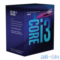 Процессор Intel Core i3-8100 (BX80684I38100) UA UCRF