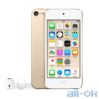 Мультимедійний портативний програвач Apple iPod touch 6Gen 16GB Gold (MKH02)
