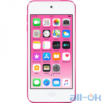 Мультимедийный портативный проигрыватель Apple iPod touch 7Gen 32GB Pink (MVHR2)