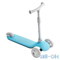 Дитячий самокат-кікборд Xiaomi MITU Rice Rabbit Scooter (HBC01YM) Blue