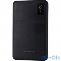 Внешний аккумулятор (Power Bank) Awei P56K 30000mAh Black