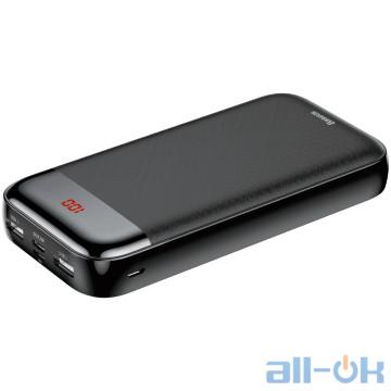 Внешний аккумулятор (Power Bank) Baseus Mini Cu digital display Power Bank 20000mAh Black (PPALL-CKU01)