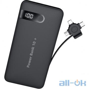 Внешний аккумулятор (Power Bank) JOYROOM LCD D-M202 10000mAh 1USB 2.A Black