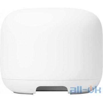 Беспроводной маршрутизатор (роутер) Google Nest WiFi Router Snow (GA00595-US)