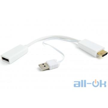 Адаптер Cablexpert DisplayPort - HDMI White() (DSC-HDMI-DP-W)