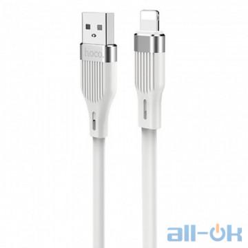 Кабель Hoco U72 Forest Silicone USB-Lightning Cable 1.2m (White)