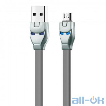 Кабель Hoco U14 Type C Cable (1.2m) Gray