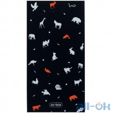 Внешний аккумулятор XO PB28 13000 mAh Black Animals (23884)