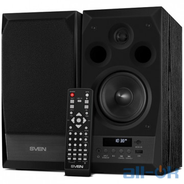 Мультимедийная акустика SVEN MC-10 Black UA UCRF