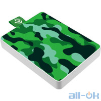 SSD накопитель Seagate One Touch 500 GB Camo Green (STJE500407) UA UCRF