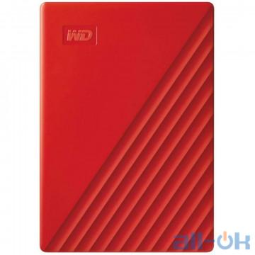 Жесткий диск WD My Passport 2 TB Red (WDBYVG0020BRD-WESN) UA UCRF