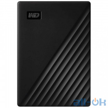Жесткий диск WD My Passport 4 TB Black (WDBPKJ0040BBK-WESN)