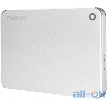 Жесткий диск Toshiba Canvio Alu 1 TB Silver (HDTH310ES3AB)
