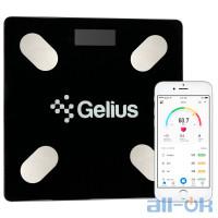 Ваги підлогові електронні Gelius Floor Scales Zero Fat GP-BS001 Black