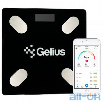 Весы напольные электронные Gelius Floor Scales Zero Fat GP-BS001 Black